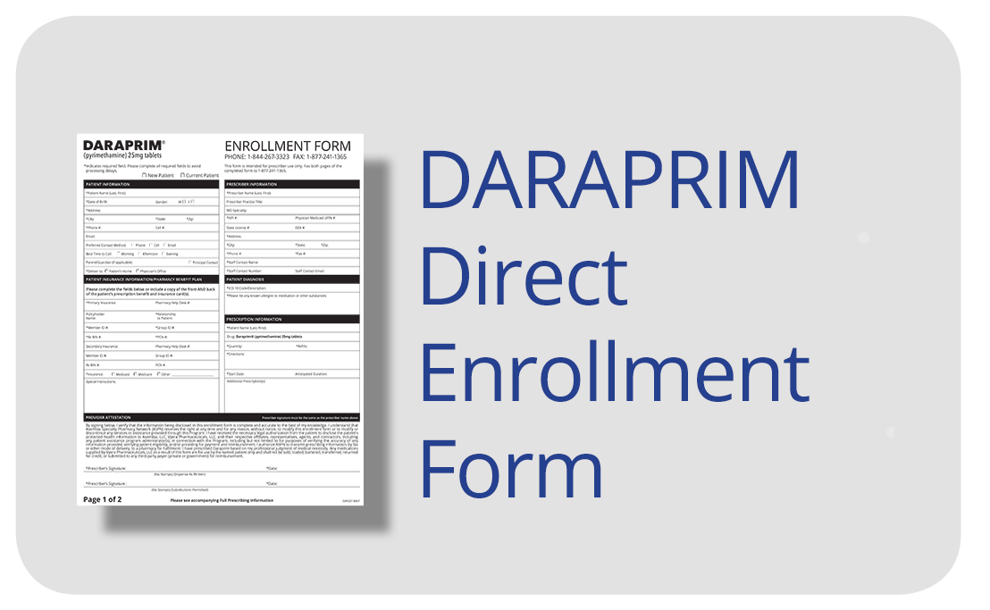 Welcome to DARAPRIM® Direct - For Healthcare Providers
